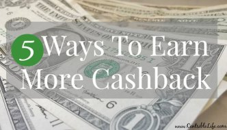 5 Ways To Earn More Cashback