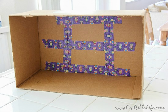 Diy Cardboard Box Lap Tray