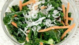 Kale Coconut Salad Recipe