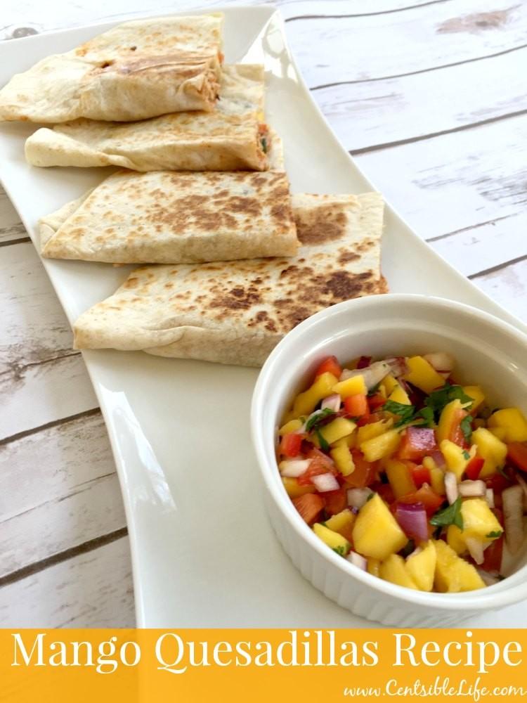 Mango Quesadillas Recipe