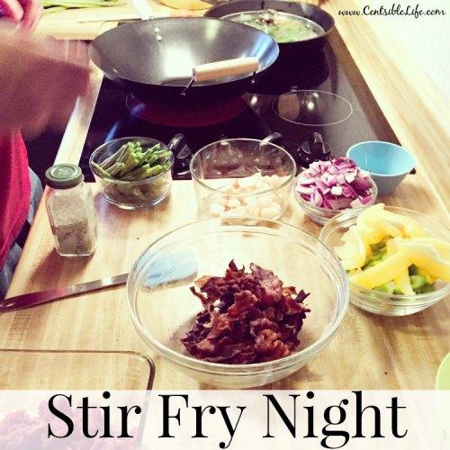 Stir Fry Night