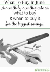 What To Buy In June 2015