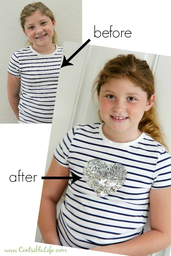 Save money and bring new life to previously loved shirts for back to school.