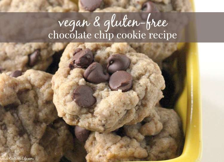 vegan & gluten-free chocolate chip cookie recipe