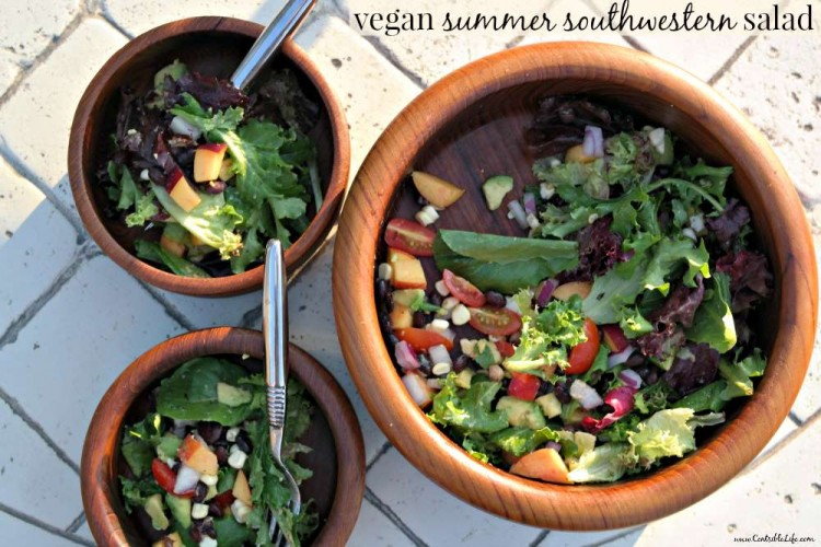 Vegan Summer Southwestern Salad Recipe