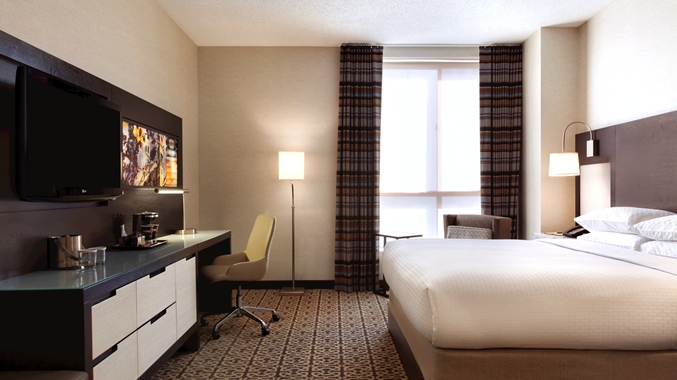 king room DoubleTree Washington St. Boston