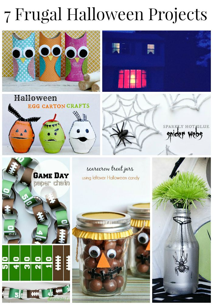 7 Frugal Halloween Projects