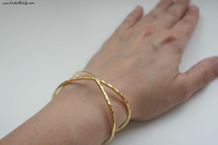 Gorjana Elea Cuff: Rocksbox jewelry subscription service