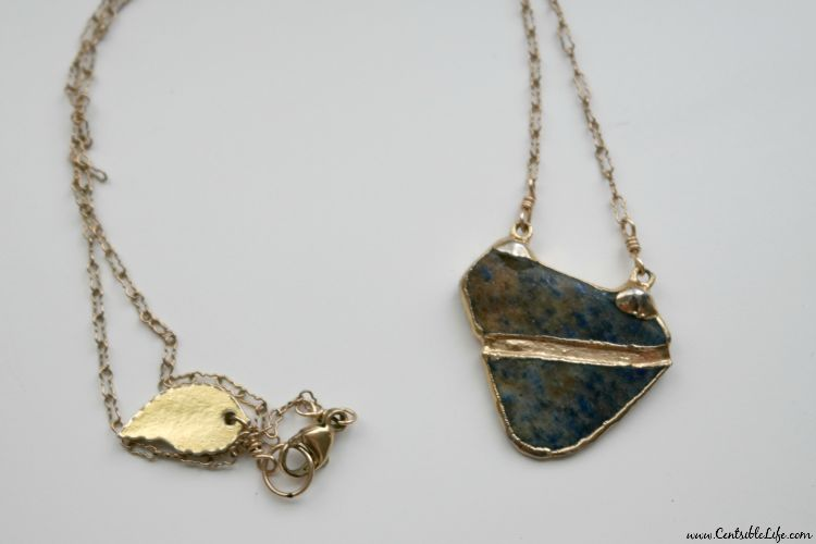 Rocksbox Jewelry Subscription Service: Robyn Rhodes Agate Necklace