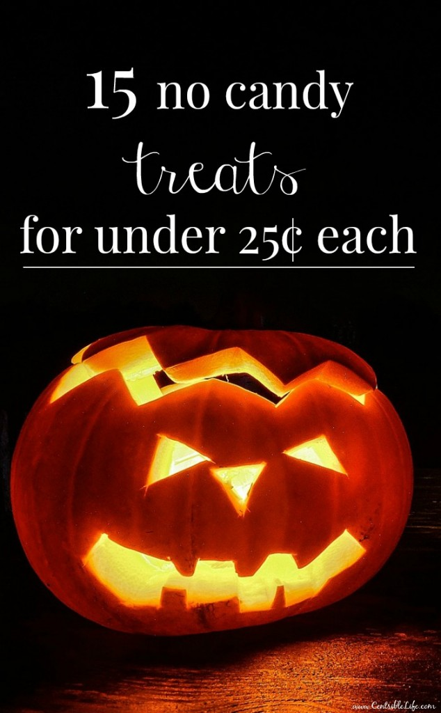 15 no candy treats for under 25¢ each