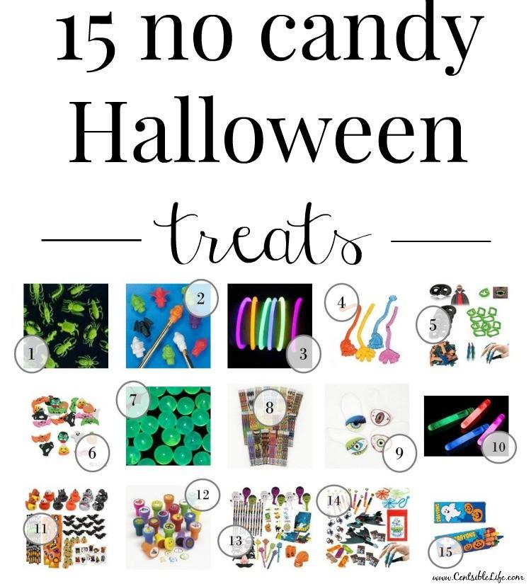 15 not candy Halloween treats
