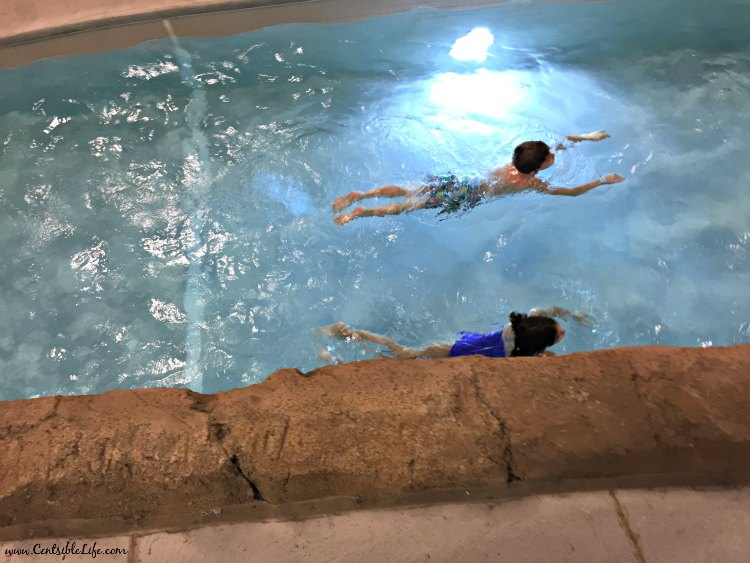Kalahari Resort Swimming