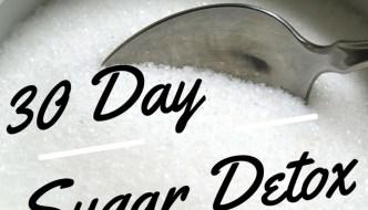 30 Day Sugar Detox: November