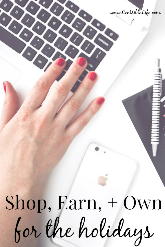 Shop, earn, and own for the holidays