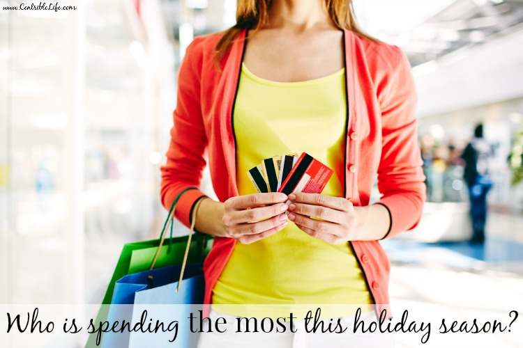 who is spending the most this holiday season
