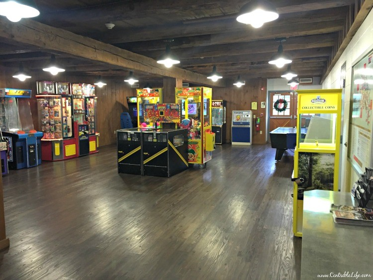Hershey Campground arcade