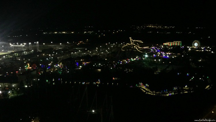 Hershey Park From Kissing Tower