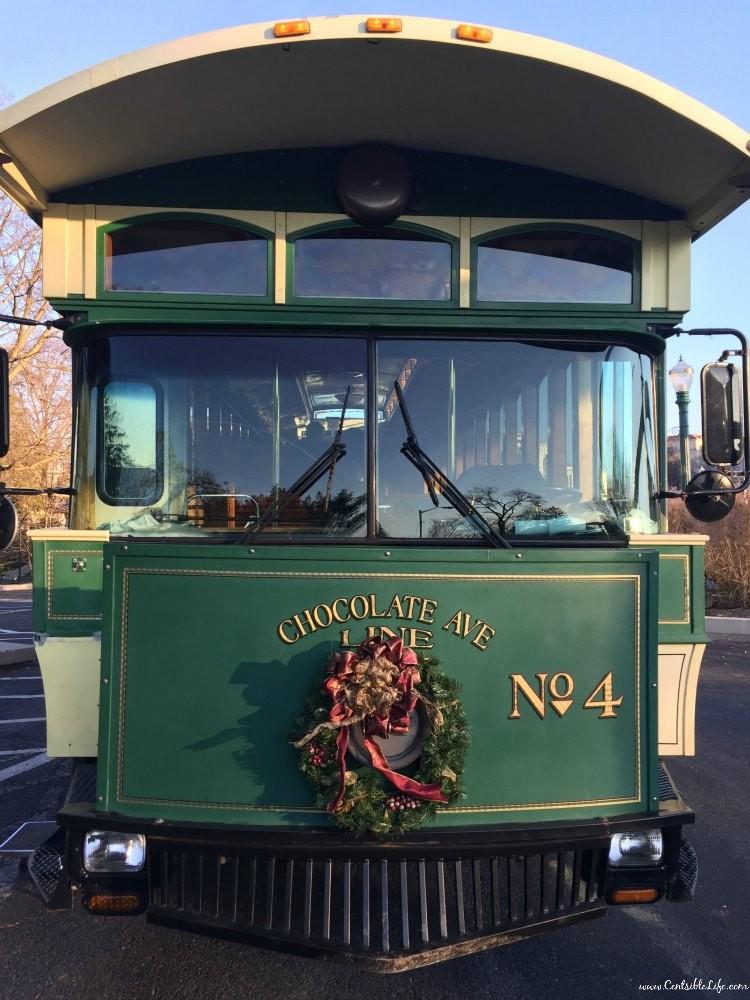 Hershey Trolley Christmas