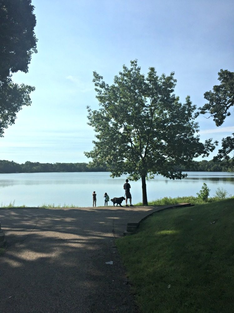 Lake walk family Minneapolis Minnesota