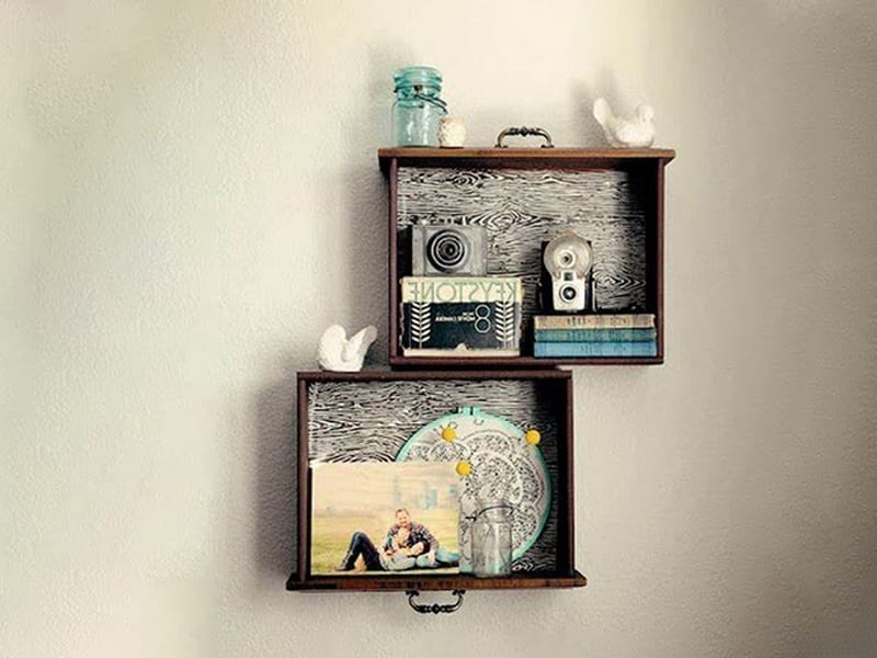 Enliven Living Room Decor With Wall Hanging Made Out Of Waste