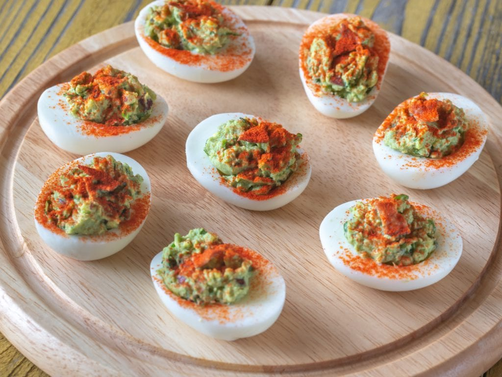 Devilled Eggs With Curry Twist