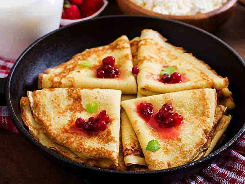 Custard Pancakes For Kids