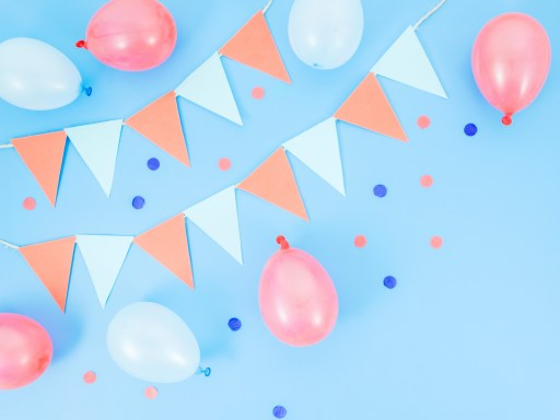 Pink And Blue Theme For Baby Shower Party