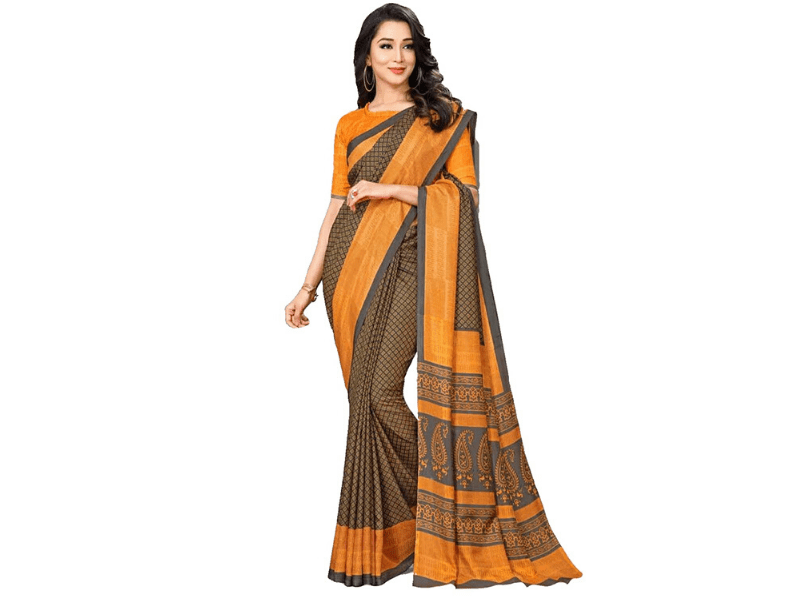 Saree To Enhance Your Office Look