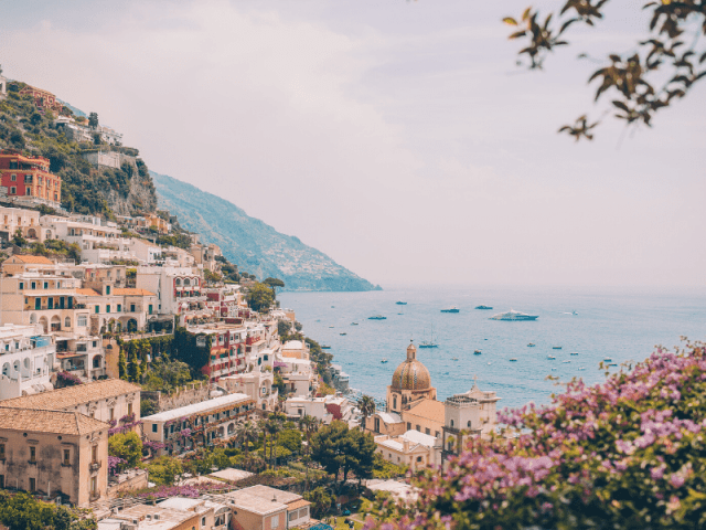 Enjoy An Endless View Of Sea At Positano, Italy