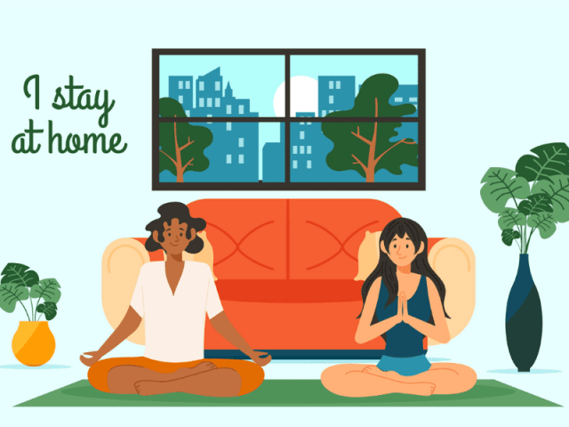 Practice Yoga While Self Quarantining At Home