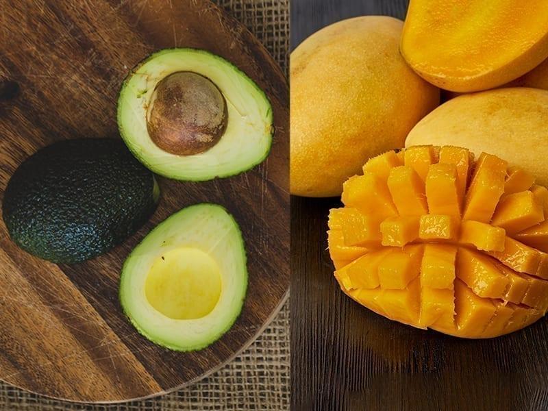 Avocado And Mango Face Pack