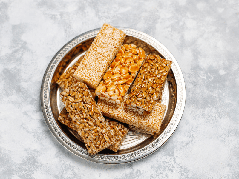 Energy Bars With Vegan Butter