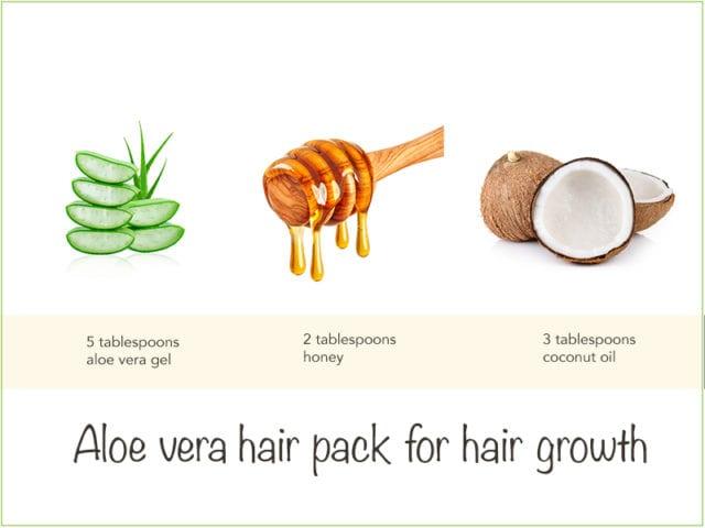 Honey And Aloe Vera Hair Pack
