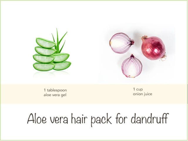 Onion And Aloe Vera Hair Pack