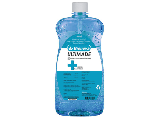 Alcohol Based Sanitizers