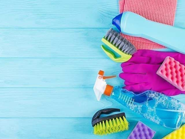 Gather Things Required For Refrigerator Cleaning