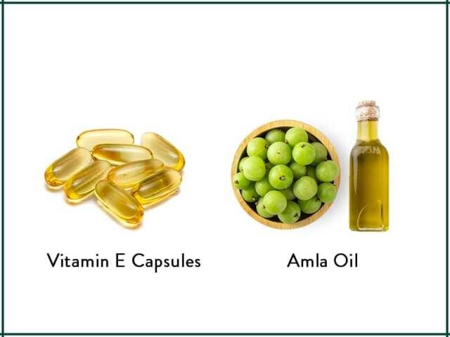 Amla And Vitamin E Hair Mask For Voluminous Hair