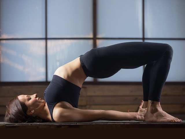 Bridge Pose To Regulate Periods
