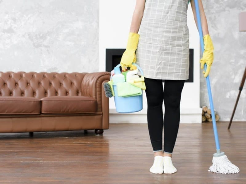 How To Sanitize And Disinfect Living Room