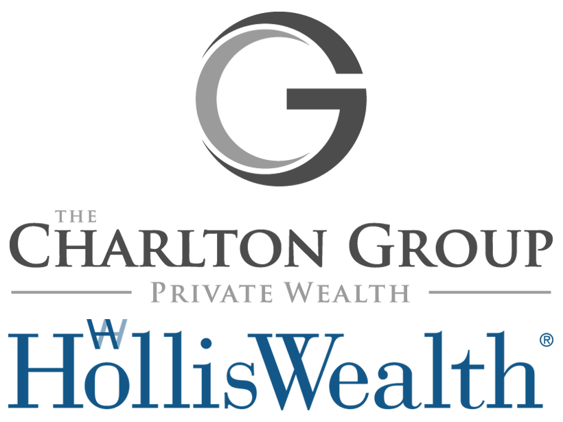 The Charlton Group is a division of Holliswealth - stacked logo transparent bg 2