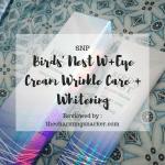 SNP Birds Nest Eye Cream Whitening Wrinkle Care Cover