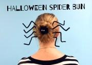 halloween spider bun - charm