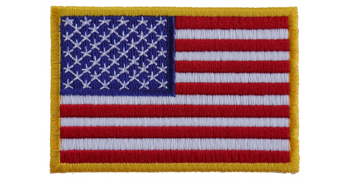 us flag patch small