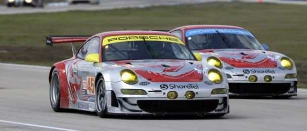 Flying Lizard Motorsports-Porsche 911 GT3 RSR (Photo Credit: Flying Lizard Motorsports)
