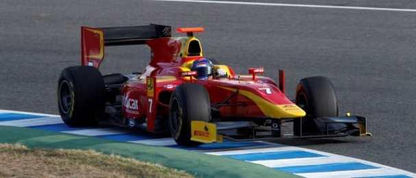 Fabio Leimer - Photo Credit: Jed Leicester/GP2 Series Media Service