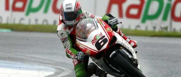 Michael Rutter - Photo Credit: Rapid Solicitors-Bathams Ducati