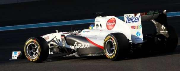 Esteban Gutierrez - Photo Credit: Sauber Motorsport AG