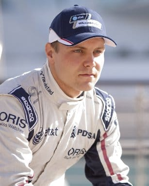 Finnish driver Valtteri Bottas has been promoted to the role of reserve driver at Williams for 2012 - Photo Credit: Alastair Staley/LAT Photographic