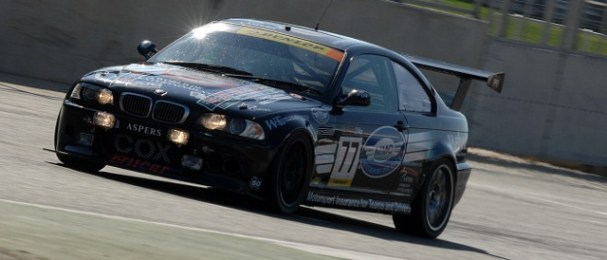The Cox BMW during the 2011 Britcar 24 Hours (Photo Credit: Chris Gurton Photography)