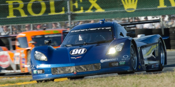 Spirit of Daytona Racing's Corvette DP during the 2012 Rolex 24 at Daytona (Photo Credit: James Boone)